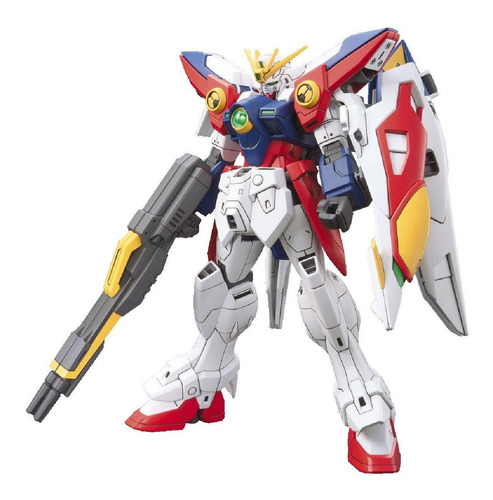 Bandai Hobby Hgac Wing Gundam Zero Model Kit (escala 1/144).