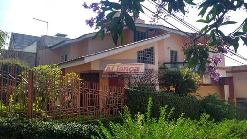 Sobrado Com 3 Dormitórios À Venda, 236 M² - Jardim Maia - Guarulhos/sp - Ai2507