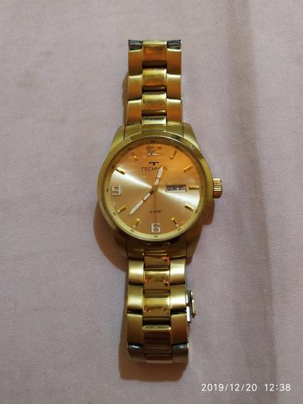 Relógio Tecnho Gold