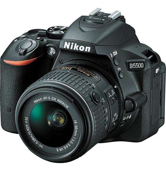 Camara Digital Nikon D5500 + Bolso Nikon + 32gb + Funda