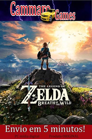 The Legend Of Zelda Breath Of The Wild( Pc ) + Dlc + 1 Jogo