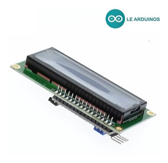 Display Lcd 16x2 + Módulo I2c - 1602 - Pic - Arduino - Iot