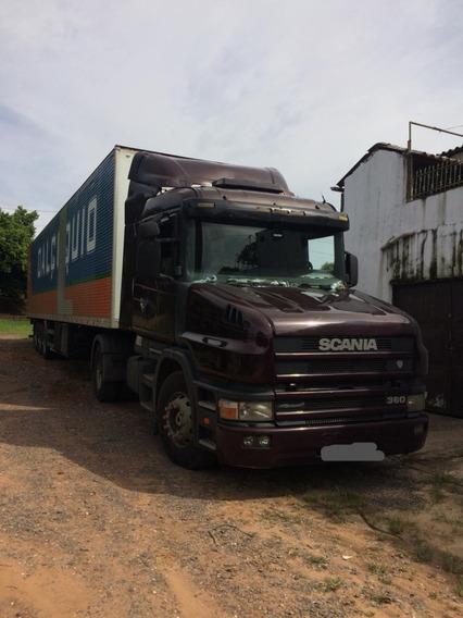 Scania T124 360 Millenium 2000/01 +carreta Facchini 2005/06