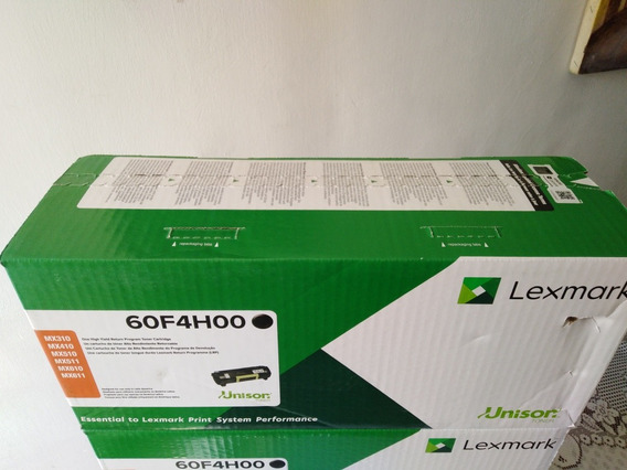 Toner 60f4h 604h Lexmark Original Sellado Mx310 Mx410