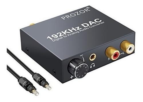 Imagen 1 de 3 de Prozor Digital To Analog Converter 192khz Dac Supports Volum