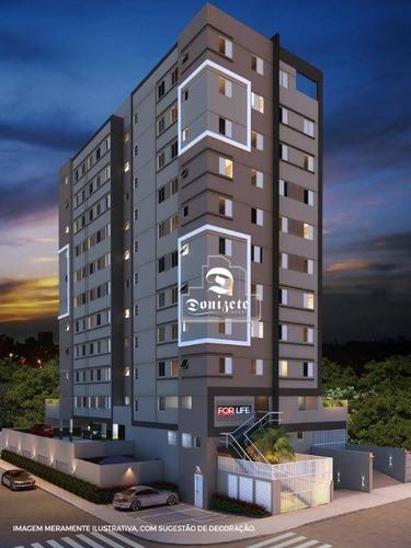 Apartamento Com 2 Dormitórios À Venda, 42 M² Por R$ 230.000,00 - Vila Valparaíso - Santo André/sp - Ap9504