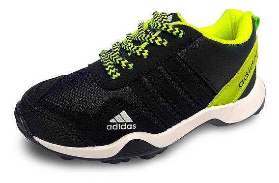 Zapato Deportivo Adiddas Niños Niñas Botas Gomas