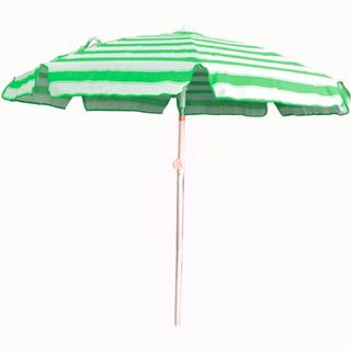 Sombrilla Para Playa Reclinable De Lona Acero Reforzado 2mts