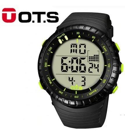Relógio Masculino Ots 7005g Militar Frete Grátis 12xs/juros