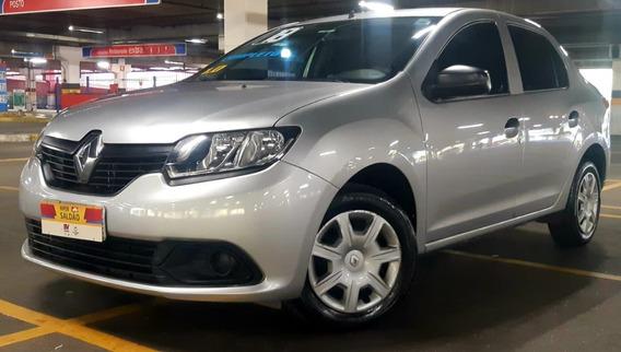 Renault Logan 1.0 Authentique Completo 2018 Zero Entrada