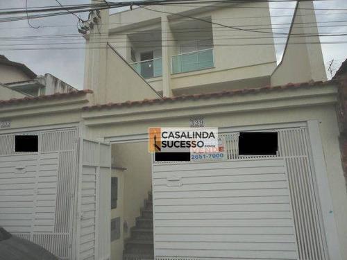 Sobrado Com 3 Dormitórios À Venda, 125 M² Por R$ 610.000,00 - Penha De França - São Paulo/sp - So0705