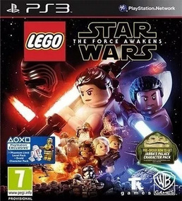 Lego Star Wars O Despertar Da Força Ps3 Psn Br Envio Na Hora