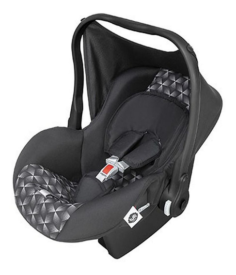 Bebê Conforto Nino Preto New Geométrico Masculino 0 À 13 Kg
