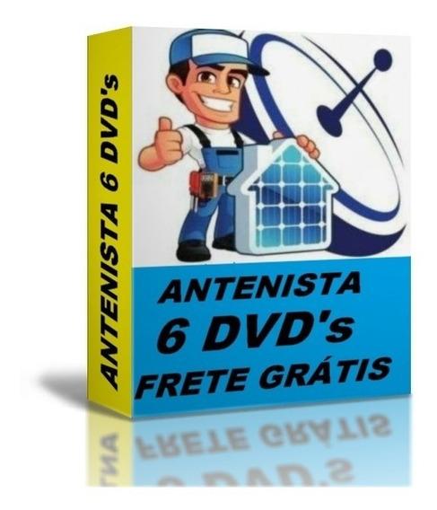 Aprenda Reparo Em Antenas Parabólicas 6h Frete Grátis