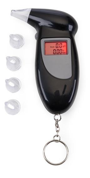 Bafómetro Etilômetro Digital Lcd Medidor Álcool - Chaveiro