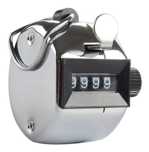 Imagen 1 de 4 de Contador Manual Mecánico 4 Dígitos Precisión Original
