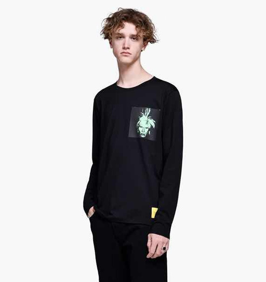 Andy Warhol Calvin Klein Playera Black Edición Especial.
