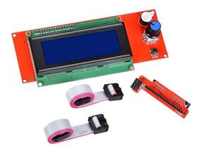 Display Lcd 2004 Com Leitor Sd Impressora 3d Reprap Ramps