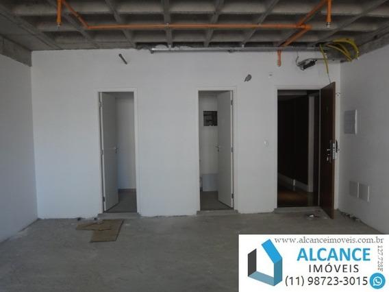 Sala Comercial Com 63,17 M² De Área Com 1 Banheiro E 2 Vagas No Edifício Montreal Em Alphaville. - Sa00045 - 34783942