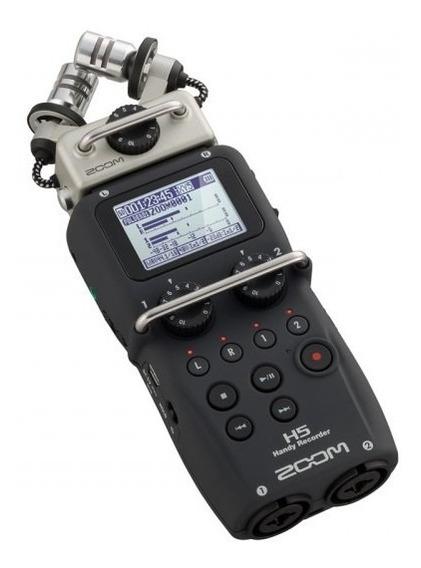 Zoom Gravador Digital Portátil De Áudio H5