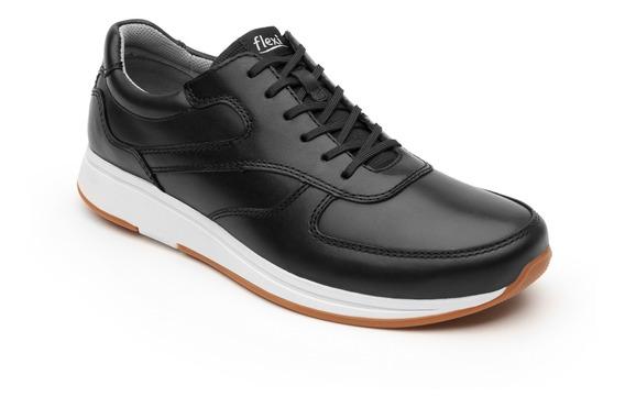 Sneaker Urbano Flexi Caballero 93302 Negro