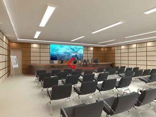 Imagem 1 de 6 de Sala À Venda, 59 M² Por R$ 380.000,00 - Santo Antônio - São Caetano Do Sul/sp - Sa0133