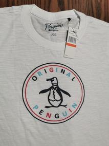 Playera Penguin L Nueva (no Armani, Zara, H&m)