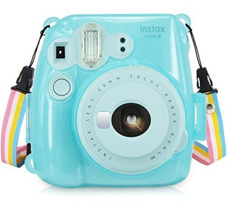 Fujifilm Instax Mini 8 / Mini 8 / Mini 9 Crystal Case - Wolv