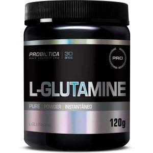 L-glutamine Sem Sabor - 120 Gramas - Probiotica