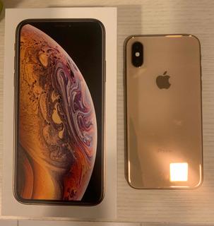 iPhone Xs Gold 256gb Com Garantia Apple Até Abril