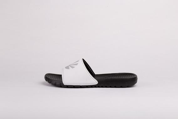 Ojotas Kioshi Dalian Blanco Negro