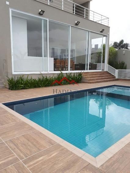 Linda Casa Para Venda No Condomínio Fechado Bosque Dos Jatobás Em Jundiaí Sp. - Ca00118 - 31950132
