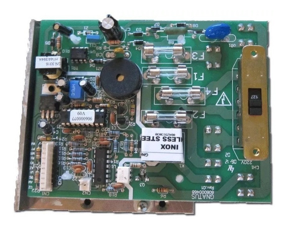 Placa De Comando Da Autoclave Gnatus 12l Cod 300051041