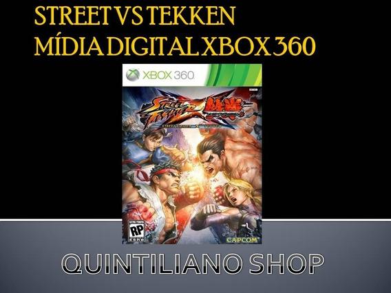 Street Fighter Vs Tekken Mídia Digital Xbox 360