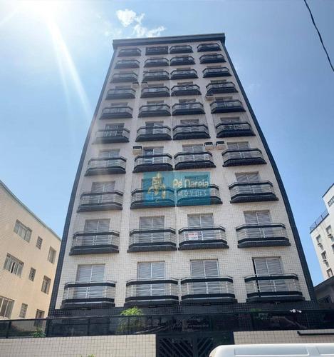 Apartamento Com 1 Dormitório À Venda, 48 M² Por R$ 180.000,00 - Boqueirão - Praia Grande/sp - Ap0478