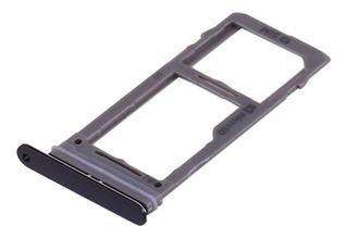 Bandeja Porta Sim Memoria Sd Galaxy S9 S9+ Negr Envio Gratis