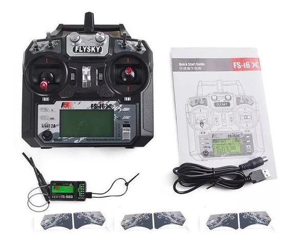 Radio Control Remoto Flysky Fs-i6x Rxfs-ia6b +cable Datos