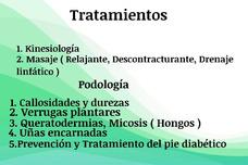 Podología Y Kinesiología En El Hogar