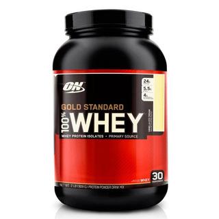 Whey Protein 100% - Sabor Morango - Optimum Nutrition -