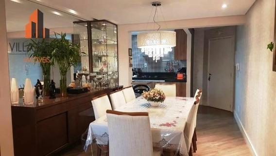Apartamento Com 1 Dormitório À Venda, 92 M² Por R$ 585.000 - Vila Pires - Santo André/sp - Ap4702