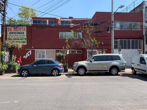 Renta Para Oficina Y/o Bodega En Col Del Carmen Coyoacan