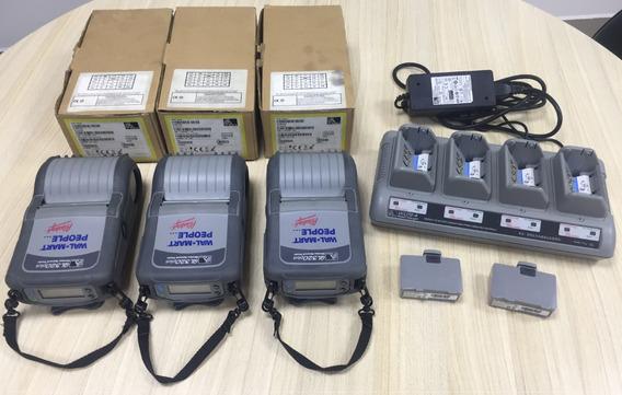 3 Impressoras Zebra Ql320 Plus Bluetooth Novas + Brinde