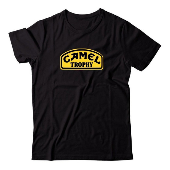 Camiseta Camel Trophy Land Rover 4x4 Off-road 100% Algodão