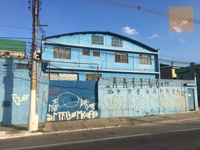 Galpão Industrial Para Locação, Jardim Piratininga, São Paulo. - Ga0047