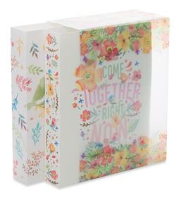 Kit Álbum De Fotos 500 Fotos 10x15 Flores Com Caixa