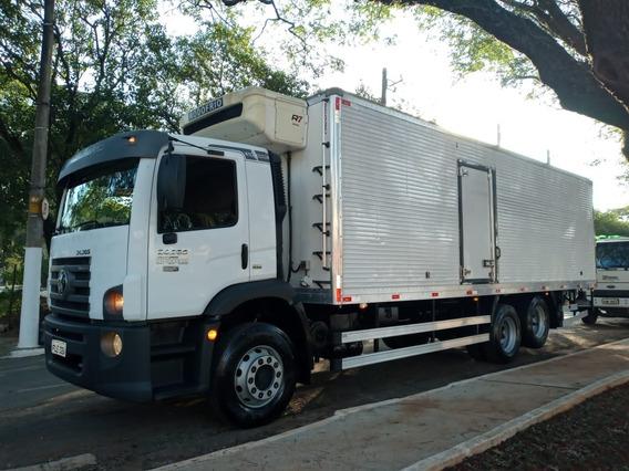 Vw 24280 2015 Automático Baú Refrigerado C/50 Mil Km Novo
