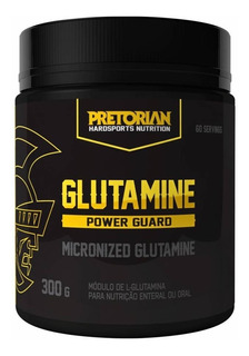 Glutamina Power Guard 300 G Pretorian Hipertrofia