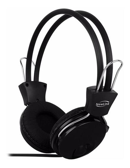 Fone De Ouvido Headset Gamer Microfone Hs202 Newlink