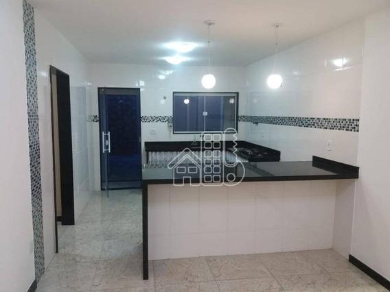 Casa Com 2 Dormitórios À Venda Por R$ 350.000 - Centro (manilha) - Itaboraí/rj - Ca0894