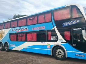 Omnibus Bus Metalsur Mix 58 Pax Mercedes Benz 500